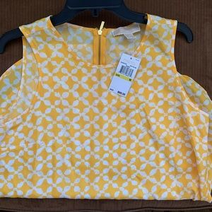 NWT Michael Kors sleeveless blouse
